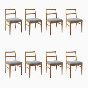 Esszimmerstühle von Arne Vodder, 1960er, 8er Set