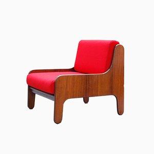 Italienischer Mid-Century Baronet Stuhl aus Palisander von Marco Zanuso für Arflex, 1960er
