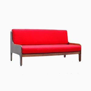 Mid-Century Italian Rosewood Baronet Sofa by Marco Zanuso for Arflex, 1960s