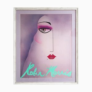 Beauty Portrait Poster by Robin Morris, 1980s