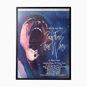 Large Vintage Pink Floyd The Wall Film Poster, 1980s