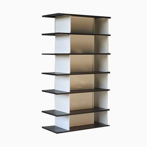 Mid-Century Industrial Shelf by Wim Rietveld for De Bijenkorf, 1960s
