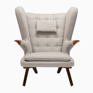 Danish Model 91 Wingback Armchair by Svend Skipper for Skipper Mobler, 1950s