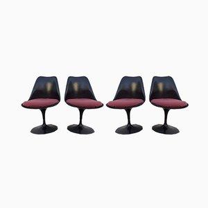 Sedie da pranzo di Eero Saarinen per Knoll Inc. / Knoll International, anni '80, set di 4