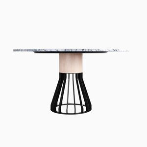 Marble Mewoma Dinner Table by Jonah Takagi