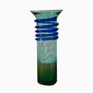 Murano Glass Spiral Vase, 1970s