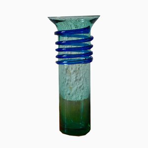 Spiralvase aus Muranoglas, 1970er