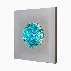 Aplique Oceano de cristal de Murano de Angelo Brotto