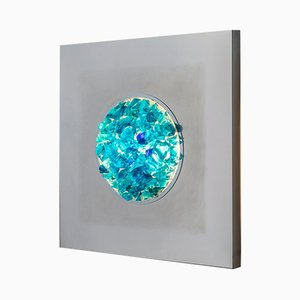 Murano Glass Oceano Sconce by Angelo Brotto