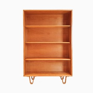 Dutch Model BB02 Birch Bookcase by Cees Braakman for UMS Pastoe, 1950s
