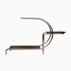 Étagère Bauhaus en Acier Tubulaire Chromé par Emile Guyot pour Thonet-Mundus, 1930s
