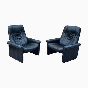 Vintage Leather DS-50 Lounge Chairs from de Sede, Set of 2