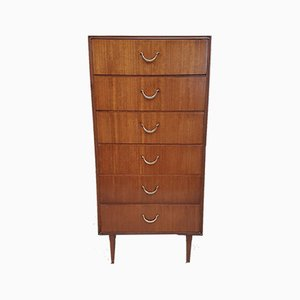 Danish Tallboy Dresser from Meredew, 1950s