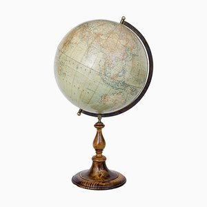 Large Antique Scandinavian Globe by Jordglob, 1900s