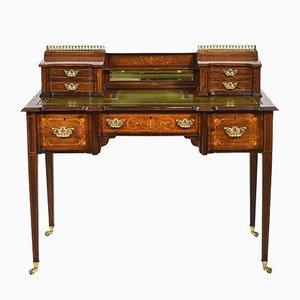 Antique Edwardian Rosewood Desk from James Shoolbred