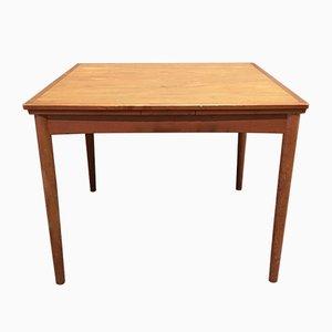 Scandinavian Modern Teak Extendable Dining Table, 1950s