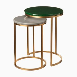 Modern Glossy Side Table by Pols Potten Studio