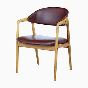 Mid-Century Teak Armchair from Gemla Möbler, 1960s