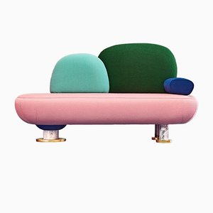 Toadstool Collection Sofa by Masquespacio
