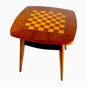 Mesa de ajedrez, años 60