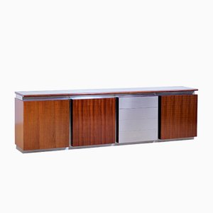 Italian Parioli Record Storage Credenza by Giotto Stoppino for Acerbis, 1970s