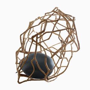 Lámpara de pie escultural de Jérôme Pereira