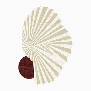 Handgeknüpfter Nautilus Teppich von Florian Pretet und Lisa Mukhia Pretet