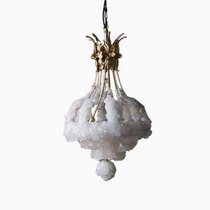 Lámpara de araña Overgrown de cristal de Mark Sturkenboom