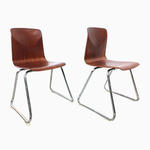 Dining Chairs from Pagholz Flötotto, 1956, Set of 2
