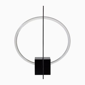 Sculptural Table Lamp with Mirror by Maximilian Michaelis