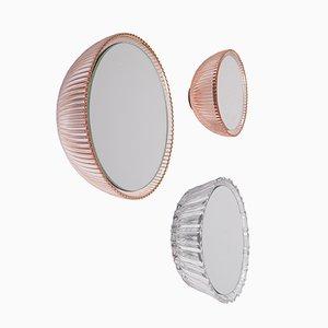 Miroirs Muraux Saturn 137a, 177e et 186a par Andreas Berlin, Set de 3