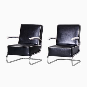 Art Deco Armchairs from Mücke Melder, 1930s, Set of 2