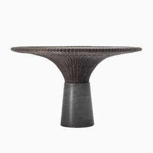 Table de Salle à Manger Lava Stone Amazonas par Giorgio Bonaguro