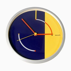 Wall Clock from Philips, 1980s