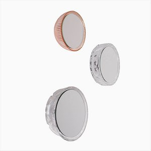 Saturn 137a, 177c & 177d Wall Mirrors by Andreas Berlin, Set of 3