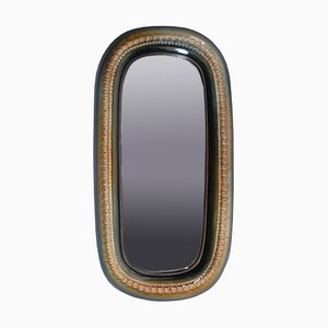 Vintage Polish Mirror by A. Sadulski for Mirostowice, 1970s