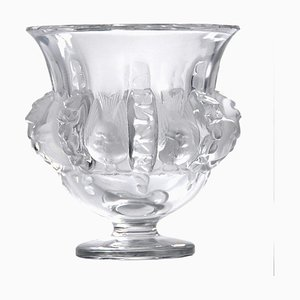 French Crystal Dampierre Vase from Lalique, 1970s