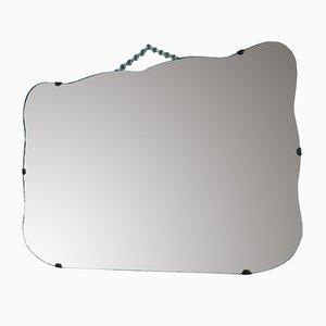 Art Deco Beveled Mirror, 1940s
