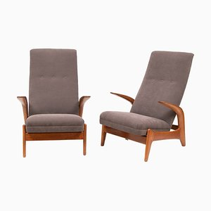 Mid-Century Armchairs by Rolf Rastad & Adolf Relling for Gimson & Slater, Set of 2