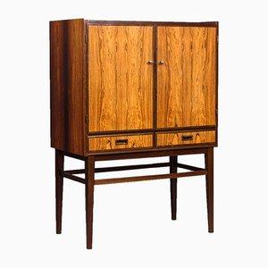 Mid-Century Swedish Rosewood Cabinet, 1950s