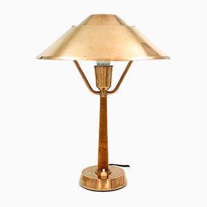 Lampe de Bureau Mid-Century de AB E Hansson & CO, Suède, années 40