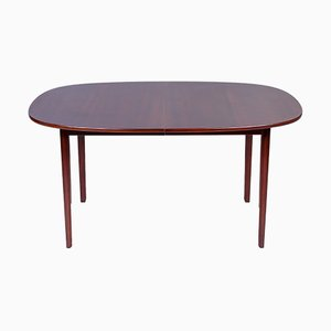 Mahogany Dining Table by Ole Wanscher for Poul Jeppesens Møbelfabrik, 1960s