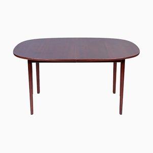 Tavolo da pranzo in mogano di Ole Wanscher per Poul Jeppesens Møbelfabrik, anni '60
