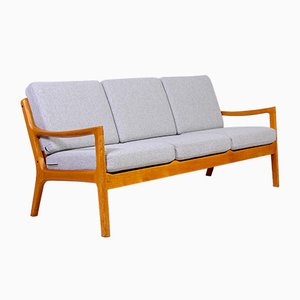 Mid-Century Oak Model Senator Sofa by Ole Wanscher for Cado, 1950s