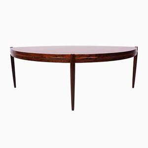 Mid-Century Rosewood Coffee Table by Johannes Andersen for AB Trensums Fåtöljfabrik, 1950s