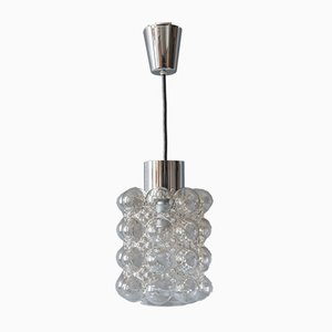 Nickel Plated Pendant Lamp from Limburg, 1960s