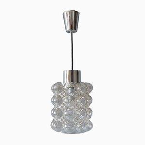 Nickel Plated Pendant Lamp from Limburg, 1960s