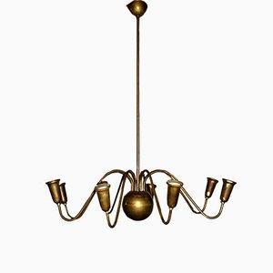 Villa Ast Deckenlampe von Josef Hoffmann, 1940er