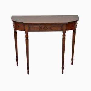Table Console Vintage en Acajou, années 20