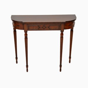 Vintage Mahogany Console Table, 1920s